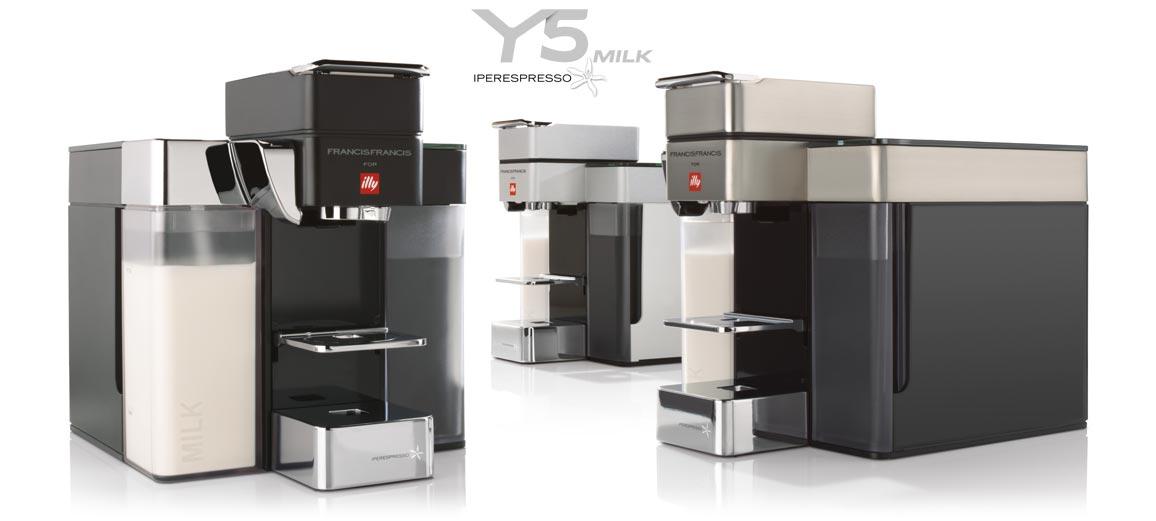 Espresso coffee machine: Y5 Iperespresso illy
